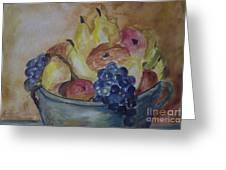 Avonelle's Fruit Bowl Greeting Card