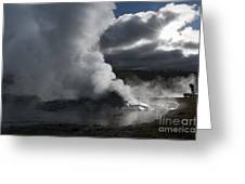 Awakening In Yellowstone Greeting Card