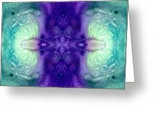 Awakening Spirit - Pattern Art By Sharon Cummings Greeting Card