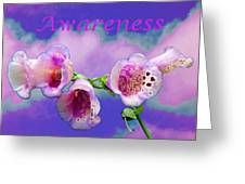Awareness Greeting Card