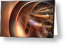 Axial Tilt Greeting Card