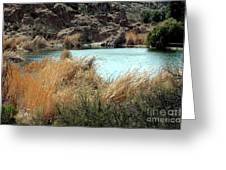 Ayer Lake Greeting Card