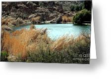 Ayer Lake Greeting Card