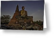 Ayuthaya Thailand Greeting Card