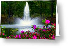 Azalea Mist Greeting Card