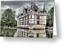 Azay-le-rideau Greeting Card