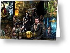Azeroth Prime Movie Poster Greeting Card