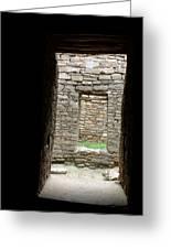 Aztec Doorway Greeting Card
