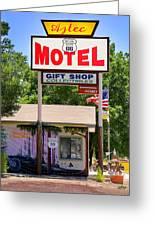 Aztec Motel -  Seligman Greeting Card