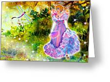 Azuria In Her Banquet Gown Greeting Card