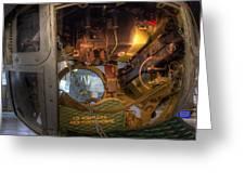 B-17 Ball Turret Greeting Card