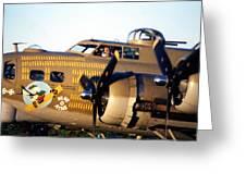 B-17 Nine O Nine Greeting Card