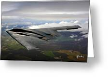 B-2 Spirit Greeting Card