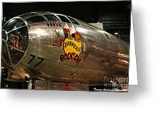 B-29 Bockscar Greeting Card
