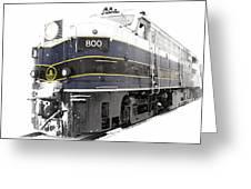 B And O 800 Greeting Card