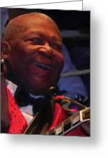 B. B. King Greeting Card