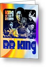 B. B. King Poster Art Greeting Card