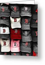 B For Bosox Greeting Card