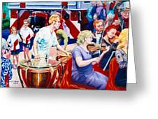 B05. The Drummer Greeting Card