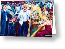 B07. The Singer And Conductor Greeting Card