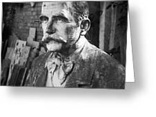 Stone Man Greeting Card