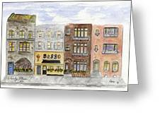 Babbo @ Waverly Place Greeting Card
