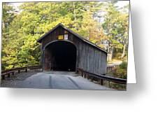 Babbs Covered Bridge Greeting Card