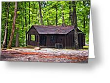 Babcock Cabin Greeting Card