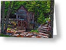 Babcock State Park Paint Greeting Card
