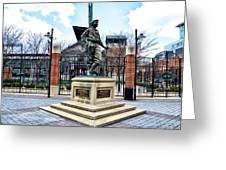 Babes Dream - Camden Yards Greeting Card