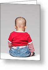 Baby Back Greeting Card