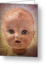 Baby Doll Face Greeting Card