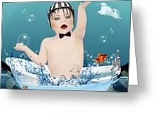 Baby Fun Time Greeting Card