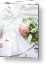 Baby Girl Dress Greeting Card