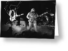 Bachman-turner Overdrive Smokin In Spokane 1976 Greeting Card