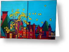 Back Bay Boston Greeting Card