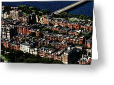 Back Bay Greeting Card