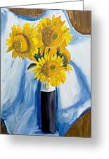 Back Bay Sunflowers Greeting Card