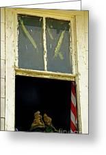 Back From Iraq Greeting Card by Joe Jake Pratt