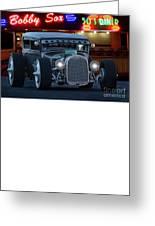 Gasoline Pump Randsburg California Greeting Card
