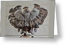 Back Kachina Eagle Greeting Card
