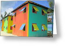 Back Of Cabins 1 Greeting Card