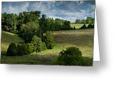 Back Pasture Greeting Card