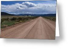 Back Road Greeting Card