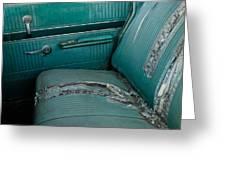 Back Seat Blues  Greeting Card