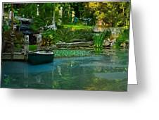 Back Woods Beauty Greeting Card