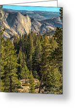 Backroads Of Yosemite Greeting Card