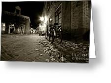 Backstreet Of Amersfoort  Greeting Card