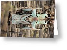 Backwater Byway Greeting Card