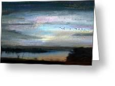 Backwater Overflight Greeting Card